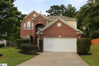 Easley Single Family Home For Sale: 416 Spirit Mountain