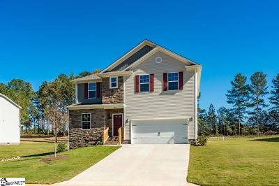 Inman Single Family Home For Sale: 520 Bella Woods