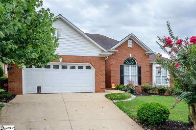 Greer Single Family Home For Sale: 8 Foxfield