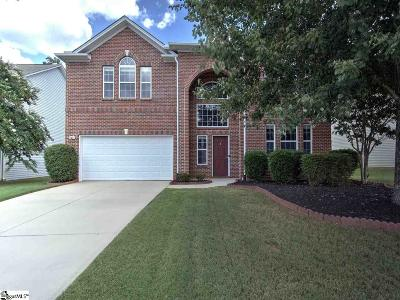 Simpsonville Single Family Home For Sale: 8 Slow Creek