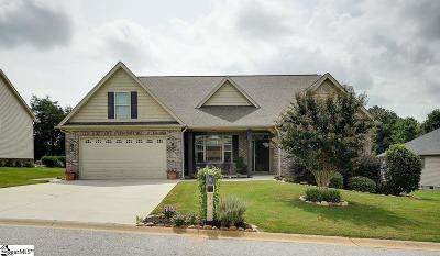 Greer Single Family Home For Sale: 339 Mellow