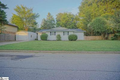 Easley Single Family Home For Sale: 105 Dayton