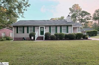 Taylors Single Family Home For Sale: 3 Timber Creek