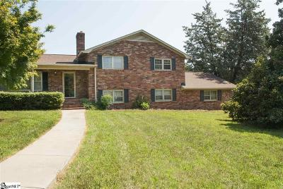 Taylors Single Family Home For Sale: 2 Cunningham