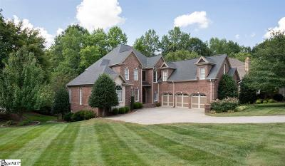 Simpsonville Single Family Home For Sale: 1 Knightsbridge