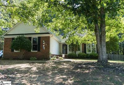 Spartanburg Single Family Home Contingency Contract: 341 Templeton