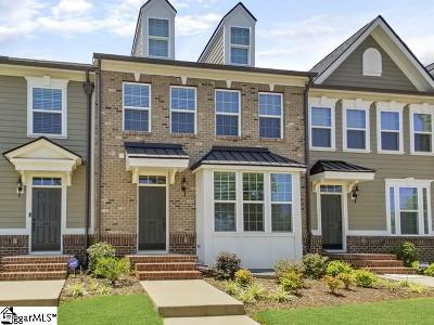 Greenville Condo/Townhouse For Sale: 242 Rocky Slope