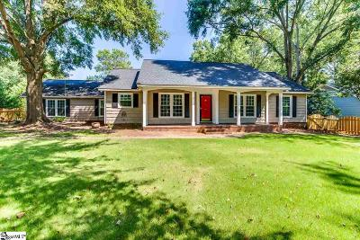 Greenville Single Family Home For Sale: 4953 Bridle Path