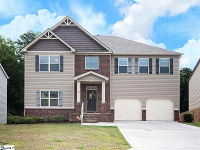 Simpsonville Single Family Home Contingency Contract: 112 Winespring