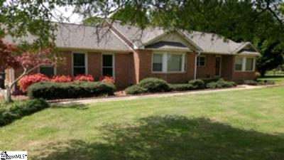 Pelzer Single Family Home For Sale: 206 Waycross Church