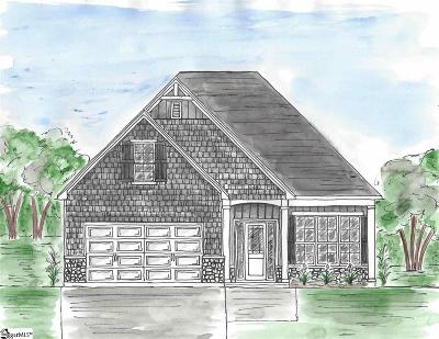 Greenville Single Family Home Contingency Contract: 308 Maple Springs