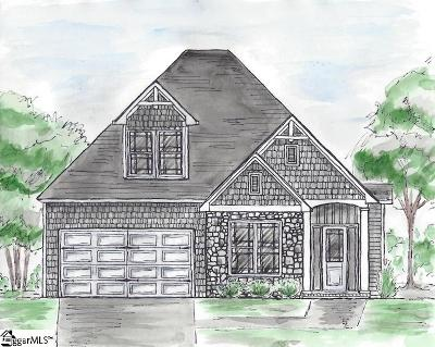 Greer Single Family Home Contingency Contract: 202 River Pines