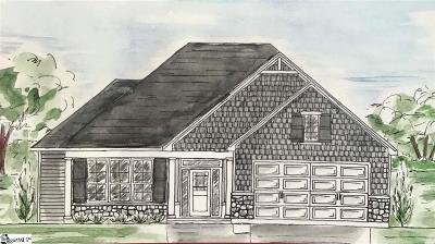 Greer Single Family Home Contingency Contract: 302 Maple Springs
