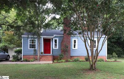 Greenville Single Family Home For Sale: 7 Essex