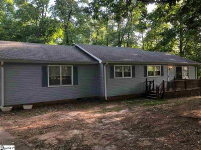 Spartanburg Single Family Home Contingency Contract: 167 Mount Zion