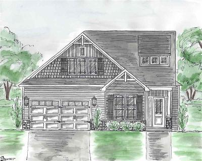 Greenville Single Family Home Contingency Contract: 208 Fernbrook