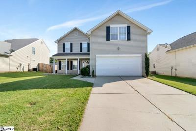 Simpsonville Single Family Home For Sale: 7 Hartwell
