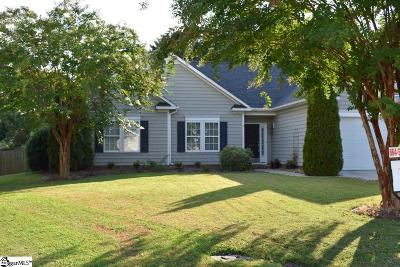 Greer Single Family Home For Sale: 509 Bayberry Ridge