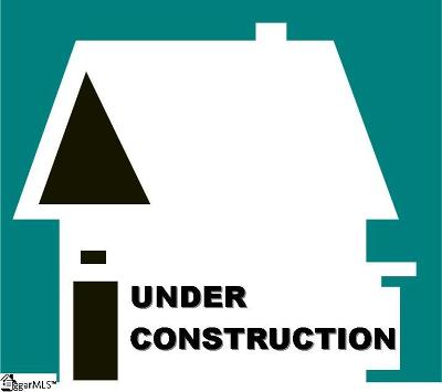 Simpsonville Single Family Home Contingency Contract: 4 Chadmore
