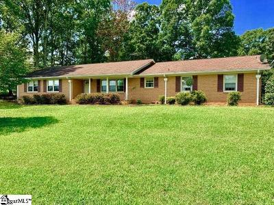 Easley Single Family Home For Sale: 526 Zion Church