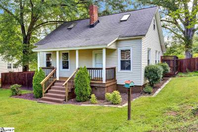 Greenville SC Single Family Home For Sale: $219,900
