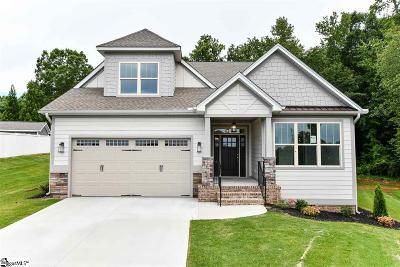 Greer Single Family Home For Sale: 123 Owens Creek #Lot 7