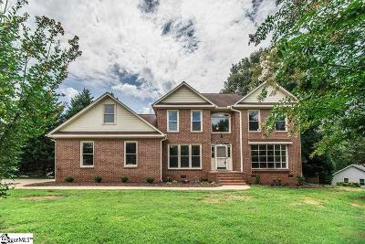 Simpsonville Single Family Home For Sale: 101 Hudders Creek