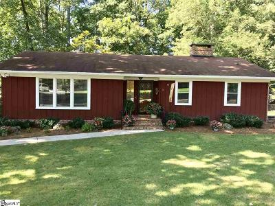 Greenville SC Single Family Home For Sale: $239,000