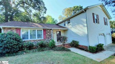 Mauldin Single Family Home For Sale: 109 Brandybrook