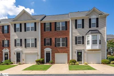 Simpsonville Condo/Townhouse For Sale: 38 Heritage Oak