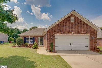 Simpsonville Single Family Home For Sale: 813 Palomino