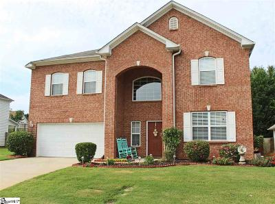 Simpsonville Single Family Home For Sale: 4 Old Tree