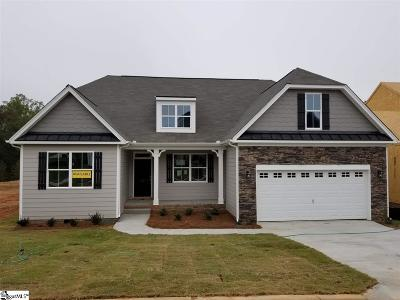 Simpsonville Single Family Home For Sale: 43 Arnold Mill #lot 162