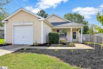 Greer Single Family Home Contingency Contract: 8 Seven Pines