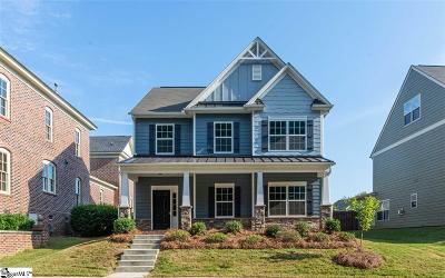 Simpsonville Single Family Home For Sale: 158 Arnold Mill