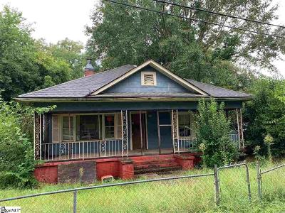 Greenville SC Single Family Home For Sale: $58,000