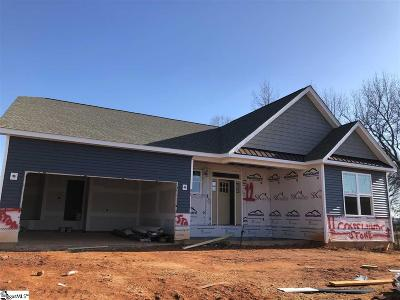 Greer Single Family Home For Sale: 114 Ramshackle #Lot 12