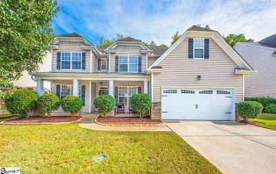 Simpsonville Single Family Home For Sale: 132 Horsepen