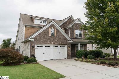 Simpsonville Single Family Home For Sale: 129 Heritage Point
