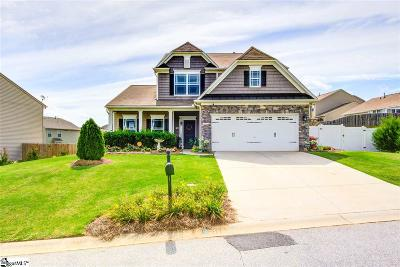 Simpsonville Single Family Home For Sale: 515 Riverdale