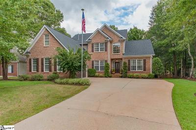 Taylors Single Family Home For Sale: 6 Brannons View