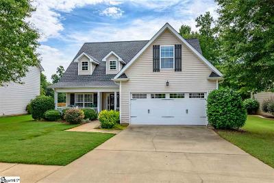 Simpsonville Single Family Home Contingency Contract: 3 Brittle Creek