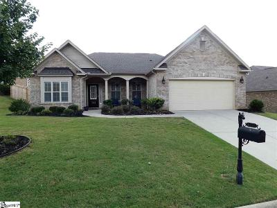 Simpsonville Single Family Home Contingency Contract: 109 Macintyre