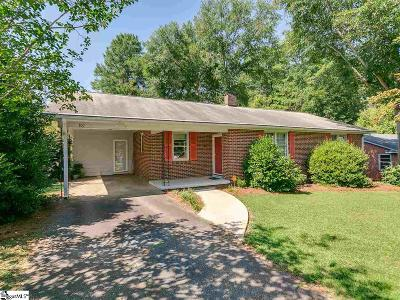 Spartanburg Single Family Home For Sale: 101 Beth