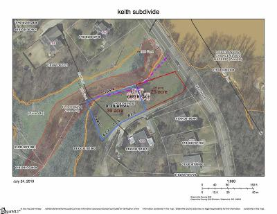 Greenville Residential Lots & Land For Sale: Keith