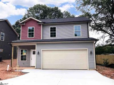 Greer Single Family Home For Sale: 408 King St