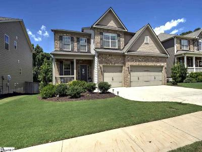 Greer Single Family Home For Sale: 43 Wood Hollow