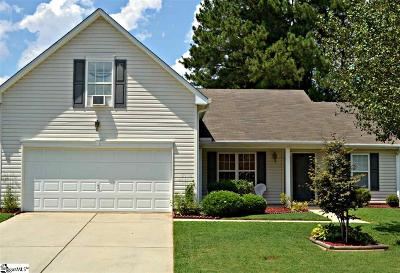 Simpsonville Single Family Home For Sale: 102 Westshire