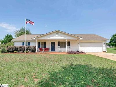 Woodruff Single Family Home For Sale: 145 Red Globe