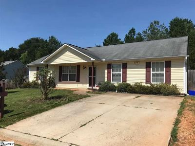 Greenville Single Family Home For Sale: 31 Backwater
